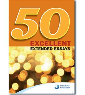 Student Resources - Extended Essay Class of 2018